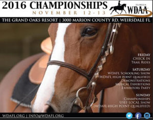 WDAFL 2016 Championships Check In and Trail Rides @ The Grand Oaks Resort | Weirsdale | Florida | United States