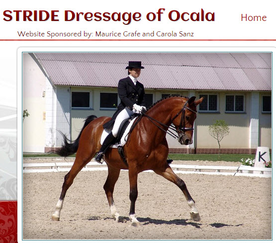 STRIDE Dressage Schooling Show Series