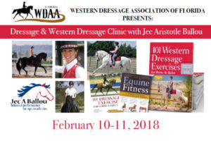 Dressage & Western Dressage Clinic with Jec Aristotle Ballou @ Charlotte Trentelman's Rebel Ridge Farm  | Anthony | Florida | United States